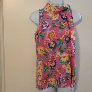 Kate Spade floral print top size XS